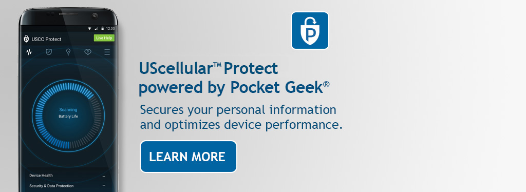 UScellular® Protect powered by Pocket Geek®